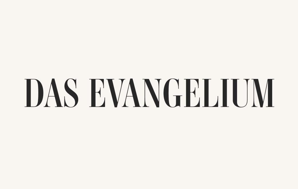 Das Evangelium erklärt